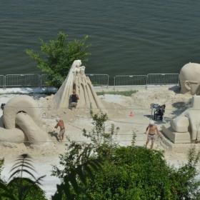 Международен фестивал на пясъчни скулптури Русе 2017