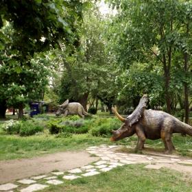 В парка