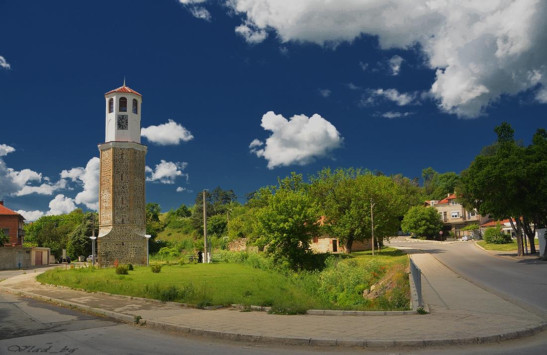 Карнобатската часовникова кула, 1841 г.