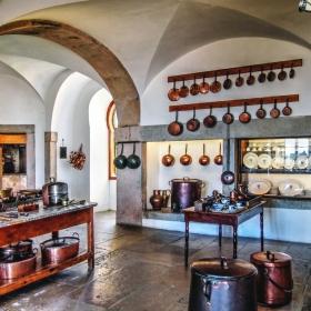 Palacio National de Sintra - Кухня
