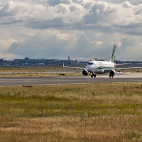 Alitalia - предстартово от Frankfurt a. Main Airport