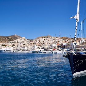 Port of Ermoupoli, Syros