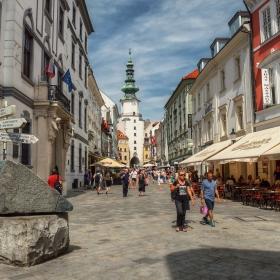 Братислава - в Стария град