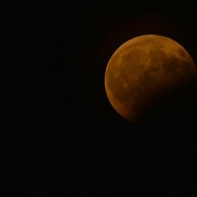 Частично лунно затъмнение 07.08.2017г.21.40ч.