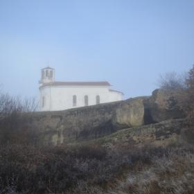 Провиралото и черквата Свети Георги, с. Лиляч