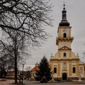 Църква Св. Стефан, 1767 г., Stupava