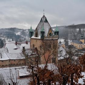 Един от замъците на масонската ложа  Dresdner Schwerterloge