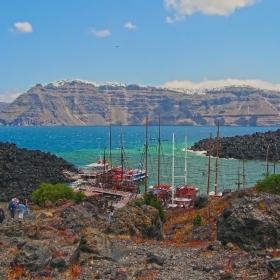 На вулканичния остров