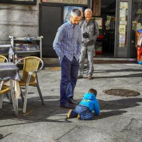 Смелият пешеходец