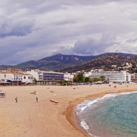 Tossa de Mar Beach