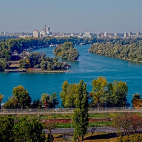 р. Сава се слива с Дунава