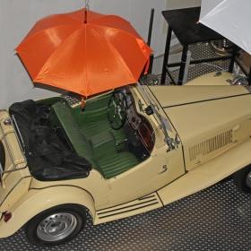 Кабрио без чадър не е кабрио!