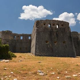 Castle at Pente Pigadia