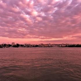 Залез по Дунав