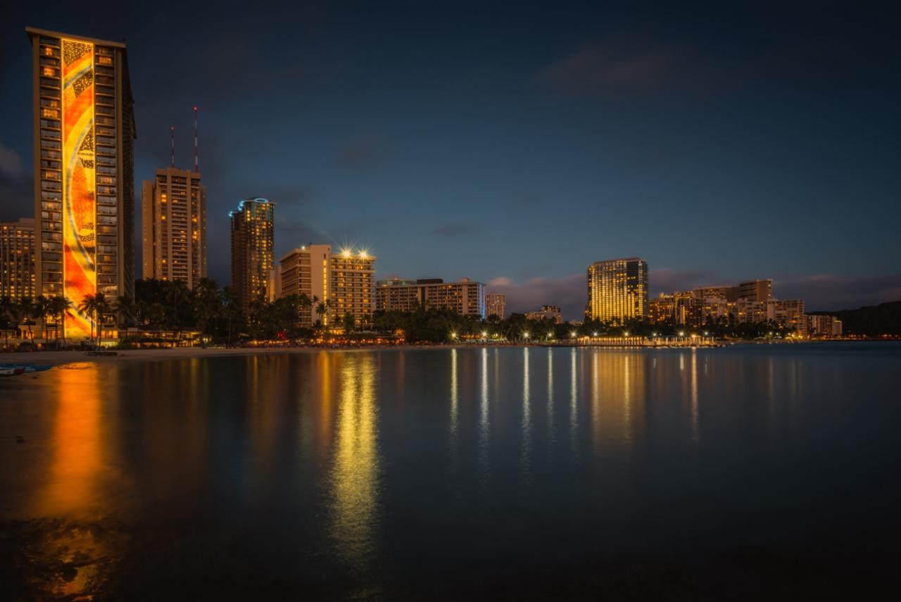 Waikiki Village, O'ahu, Hawaii