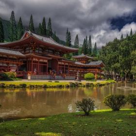 Byodo Temple - копие на Kyoto Temple