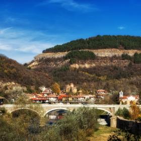 Изглед от Велико Търново - квартал Асенов