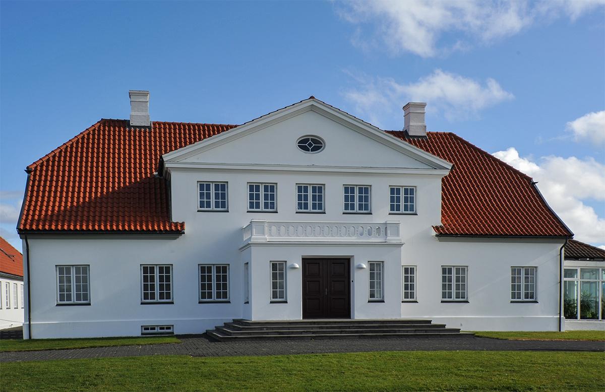 Президентска резиденция- Исландия