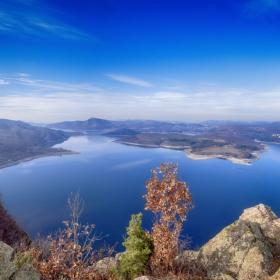 Панорамно от Големия сипей