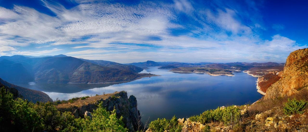 Панорама от Големия сипей