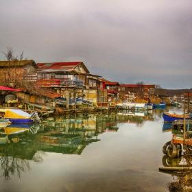 Рибарското селище край Бургас