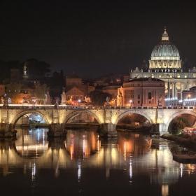 Нощ в Рим