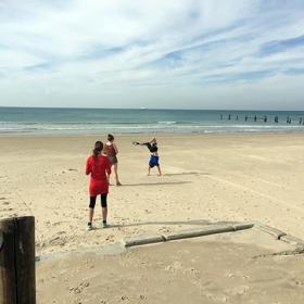 спорт  на плажа