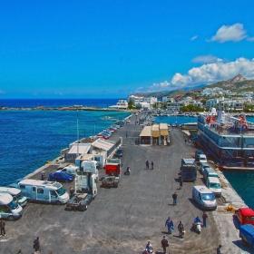 Наксос - Пристанището