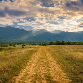 Привечер- път към Пирин