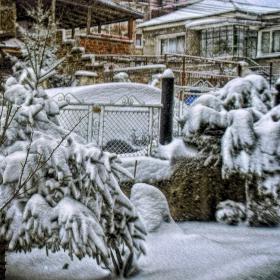 Зима в квартала