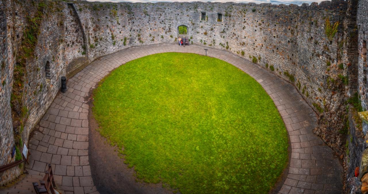 Дворът на цитаделата