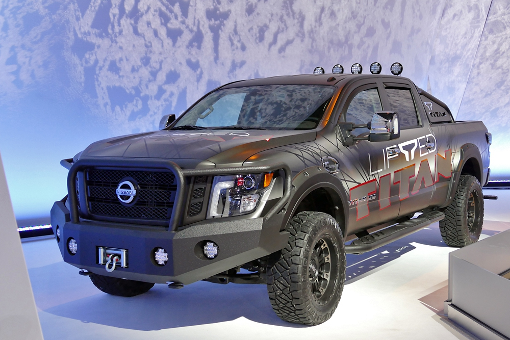 Nissan Titan XD Lifted