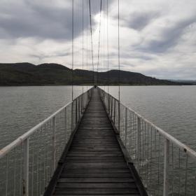 Въжен мост