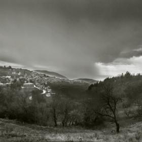 Пролетни дъждовни залези