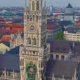 Мюнхен - Часовникова кула