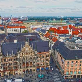 Мюнхен от птичи поглед 2