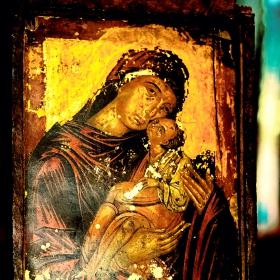 Етиопия -   Прастара икона.
