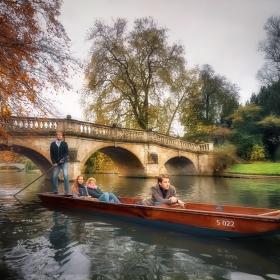 По каналите на Кеймбридж