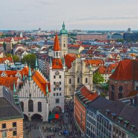Мюнхен от птичи поглед 3