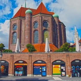 Munich - Peterskirche