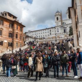 Тълпите в Рим