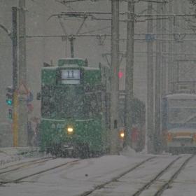 Според прогнозата, в нощта на 24 срещу 25 март, снегът ще вали по лятното часово време!...