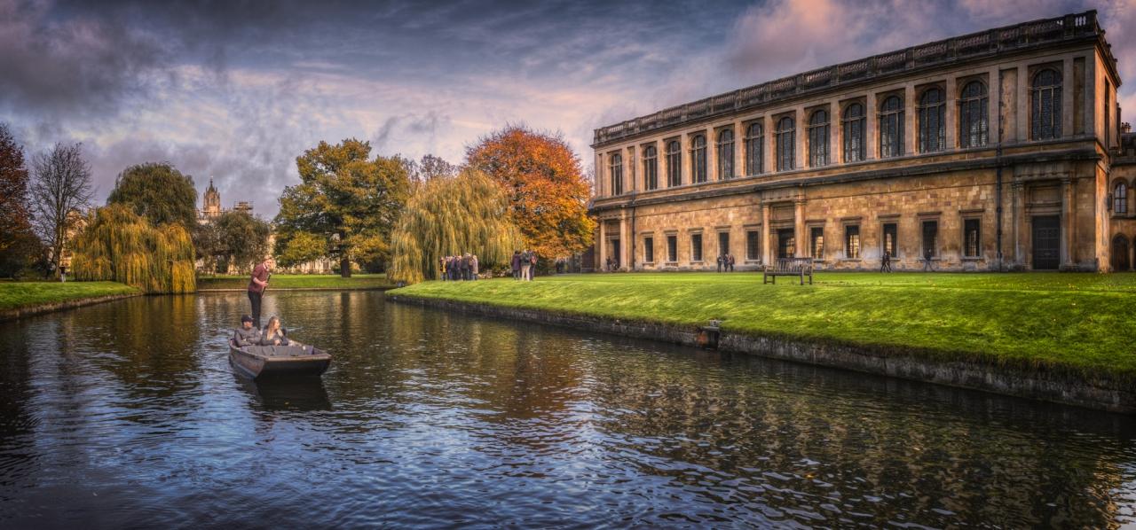Wren Library - Библиотеката на Trinity College, която носи името на на създателя си Sir Christopher Wren