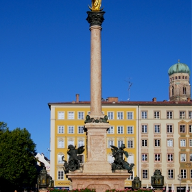Munich - Marian Column