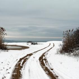 Какао бийч в края на зимата