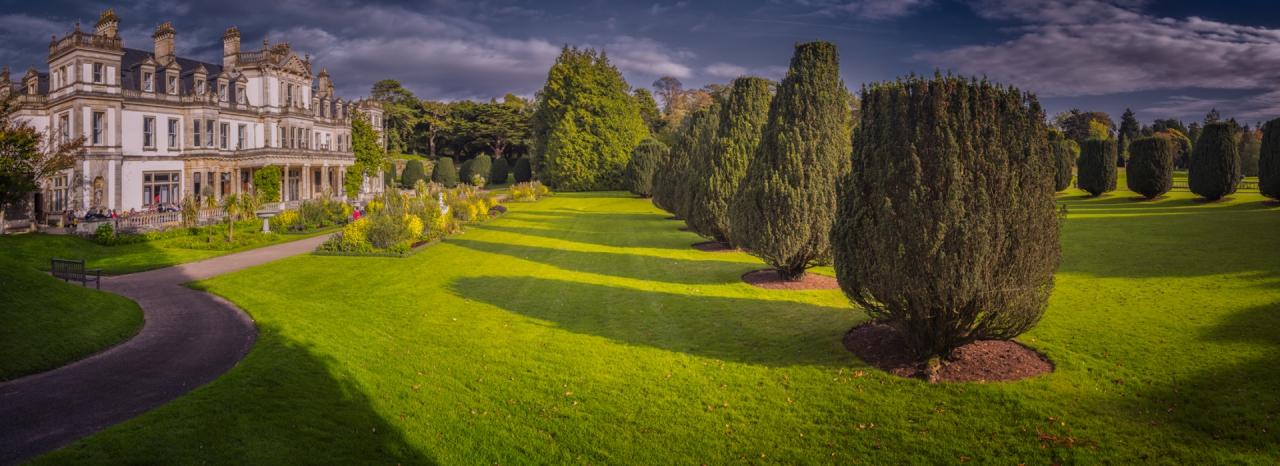 Dyffrin House and Gardens - две кликвания, моля