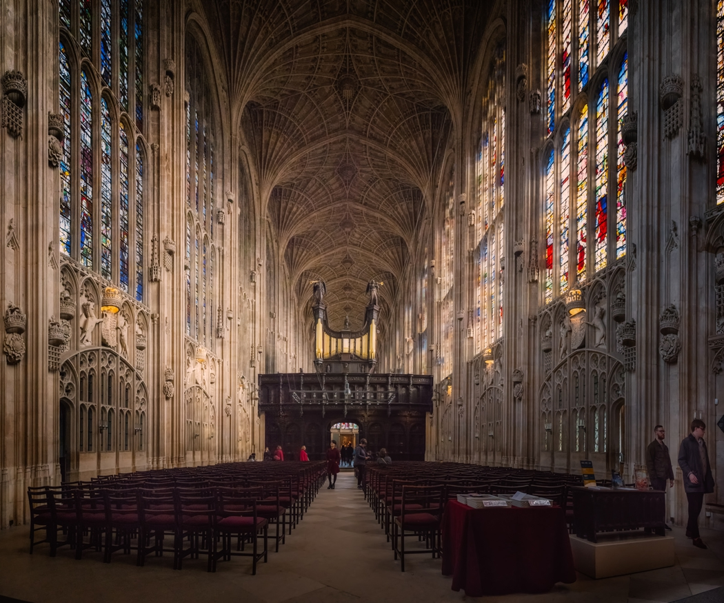 King's College Chapel - грациозните ветрилообразни сводове привличат хилядите туристи
