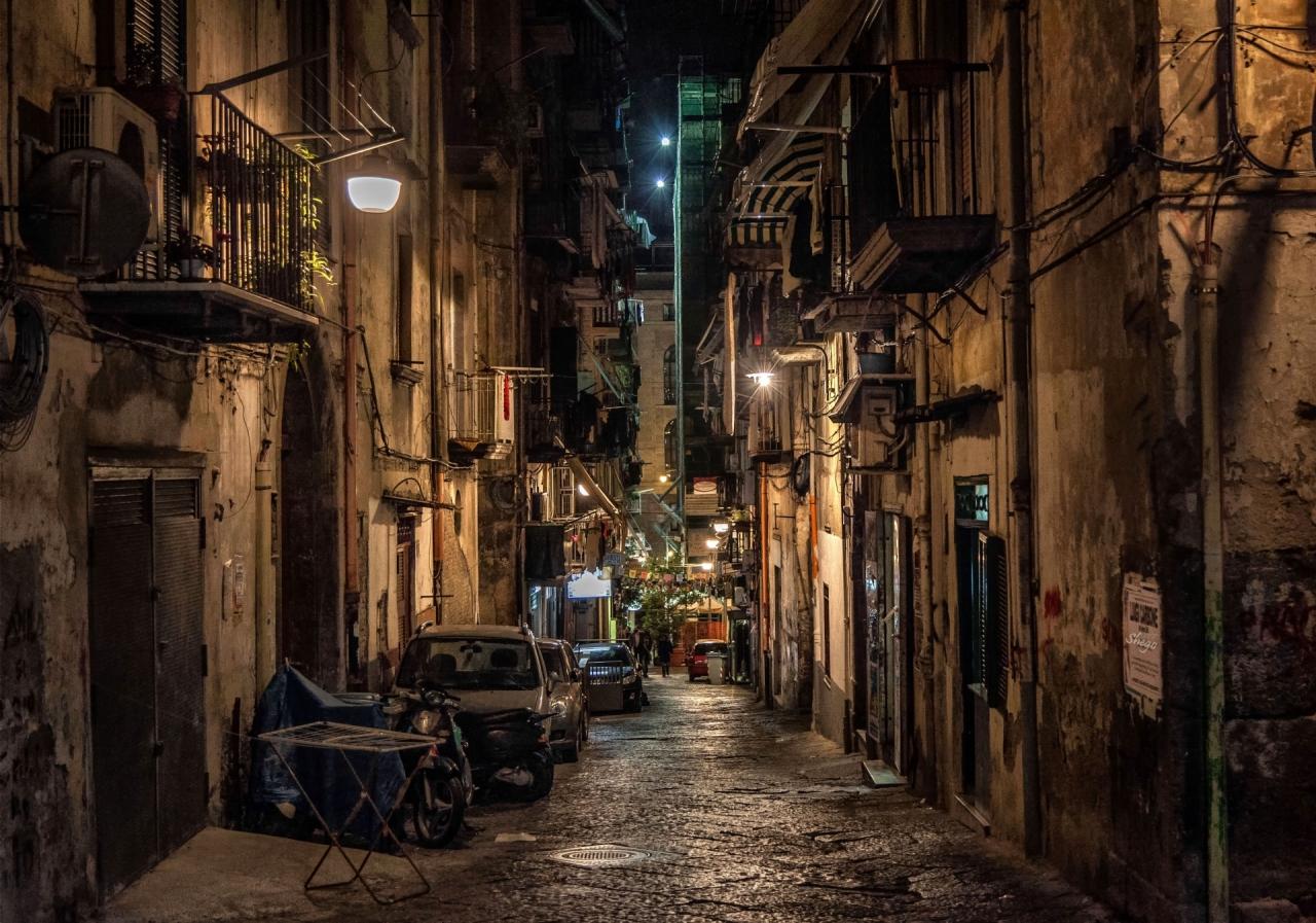 Усещане за Неапол ....... испанският квартал !