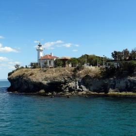 Остров  Света  Анастасия с фара