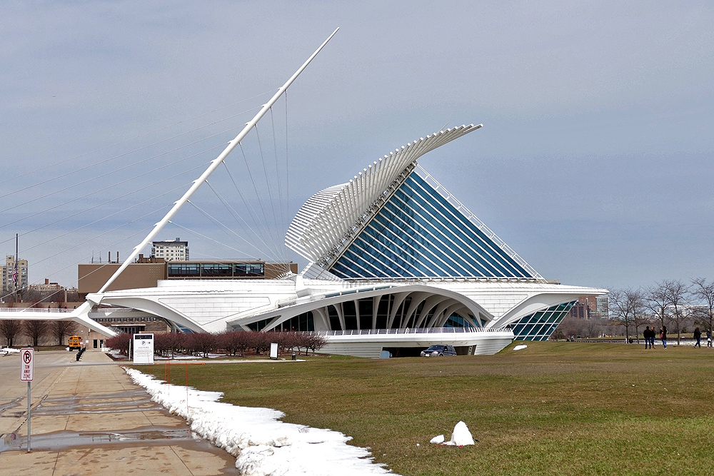 Quadracci Pavilion ,Milwaukee Art Museum